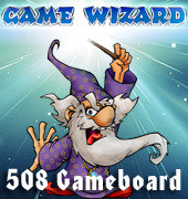 Game Wizard Arcade Combo Game Board