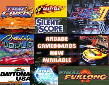 Arcade Gameboards Now Available