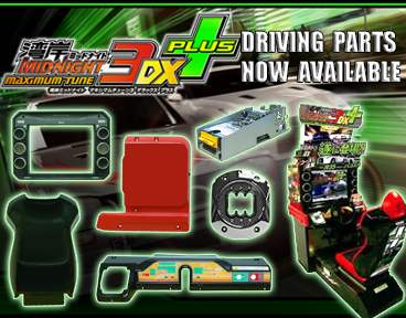 Namco Maximum Tune Driving Parts Now Available