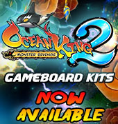 Ocean King 2 GameBoard Kits Now Available