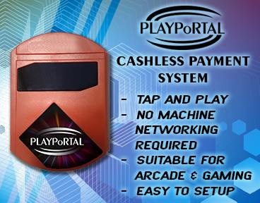 PlayPortal Cashless Payment System