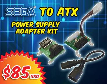 SEGA to ATX Power Supply Adapter kit - Limited Stock