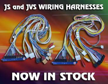 Sega JS and JVS wiring harnesses available now