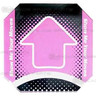 Dance Dance Revolution Floor Arrow (Pink)