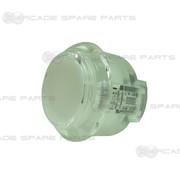 Sanwa Button OBSC-30-W (Clear White)