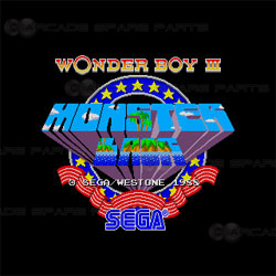 Wonder Boy 3: Monster Lair Arcade PCB